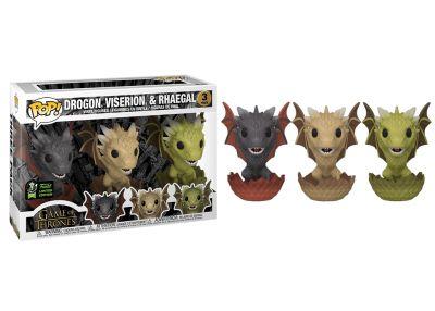 Gra o Tron - Drogon, Rhaegal & Viserion 3
