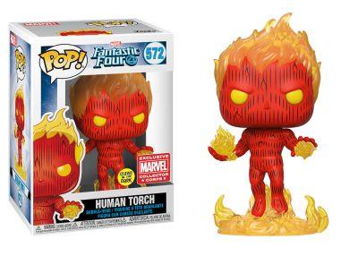 Fantastyczna Czwórka - Human Torch 2