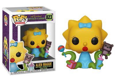 The Simpsons - Alien Maggie