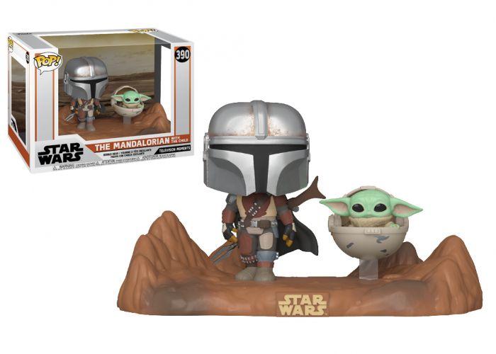 The Mandalorian - Mandalorian & Dziecko Yoda