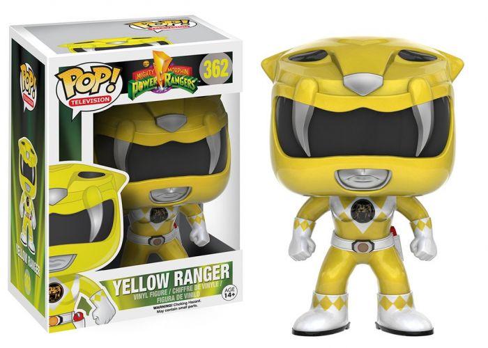 Power Rangers - Żółta wojowniczka