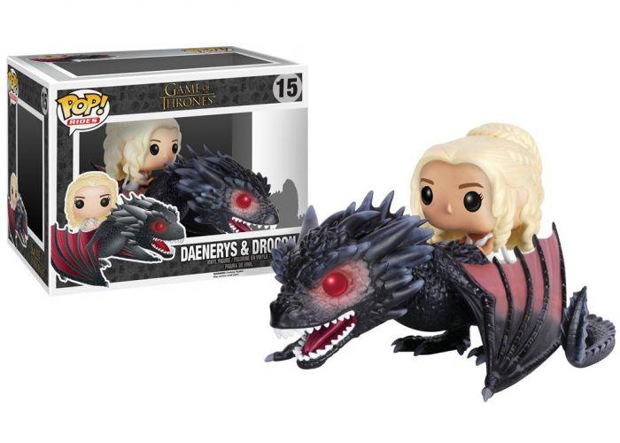 Gra o Tron - Daenerys na smoku