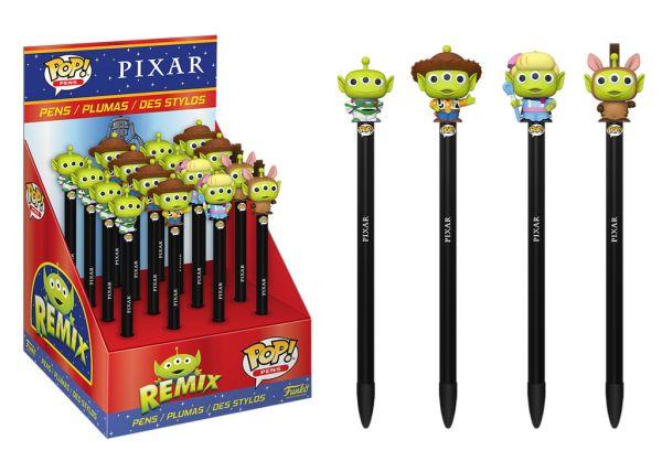 Pixar Alien Remix - Długopisy w ciemno