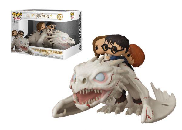Harry Potter - Harry, Ron i Hermione na smoku