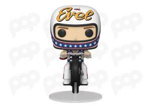 Evel Knievel - Evel Knievel na motocyklu