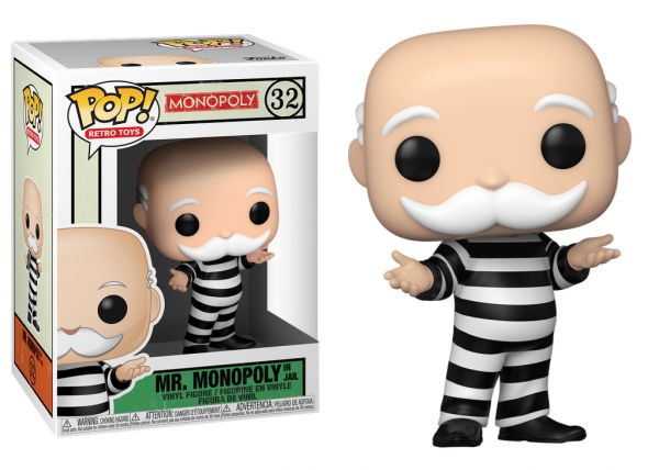 Monopoly - Mr. Monopoly In Jail