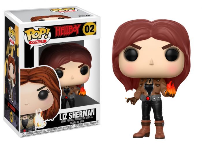 Hellboy - Liz Sherman