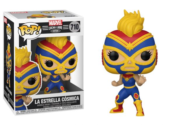 Lucha Libre - Captain Marvel