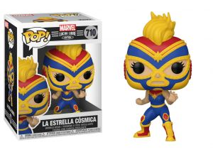 Lucha Libre - Captain Marvel
