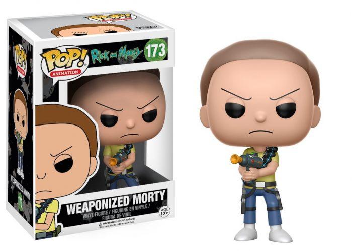 Rick and Morty - Uzbrojony Morty