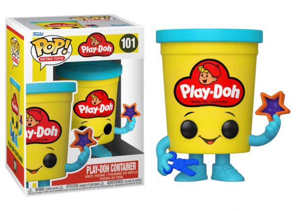Retro - Play-Doh Container