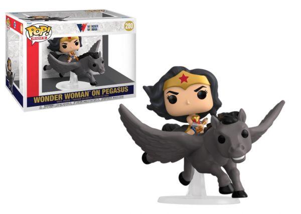 80 rocznica Wonder Woman - Wonder Woman na Pegazie