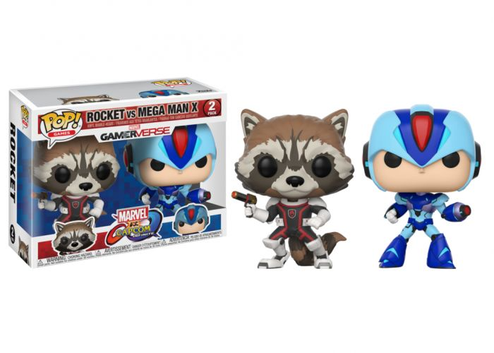 Marvel Vs. Capcom - Rocket & Mega Man X