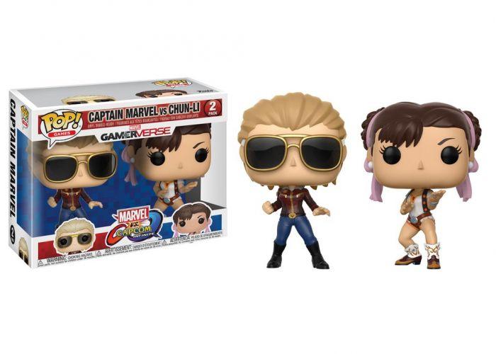 Marvel Vs. Capcom - Captain Marvel & Chun-Li
