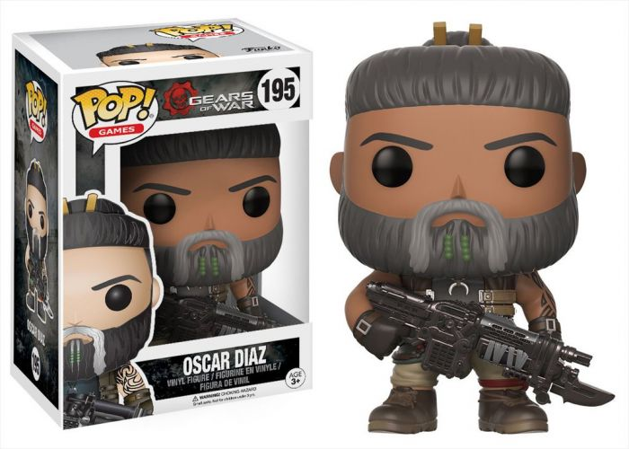 Gears of War - Oscar Diaz