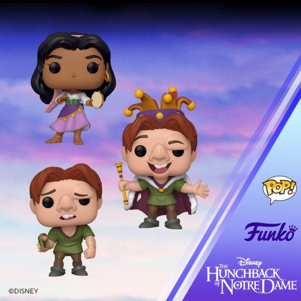 Quasimodo i Esmeralda powrócą w nowych wersjach figurek POP! Vinyl