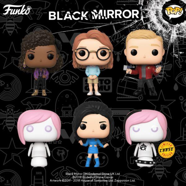 """Mamy tutaj fanów """"Czarnego lustra""""? Funko szykuje dla Was serię figurek!"""