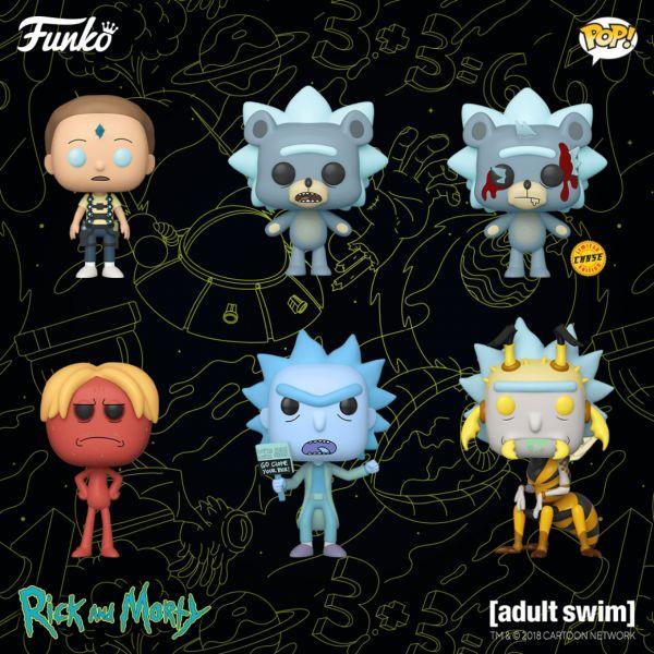 """""""Rick i Morty"""" z ośmioma nowymi figurkami niebawem w naszej ofercie"""