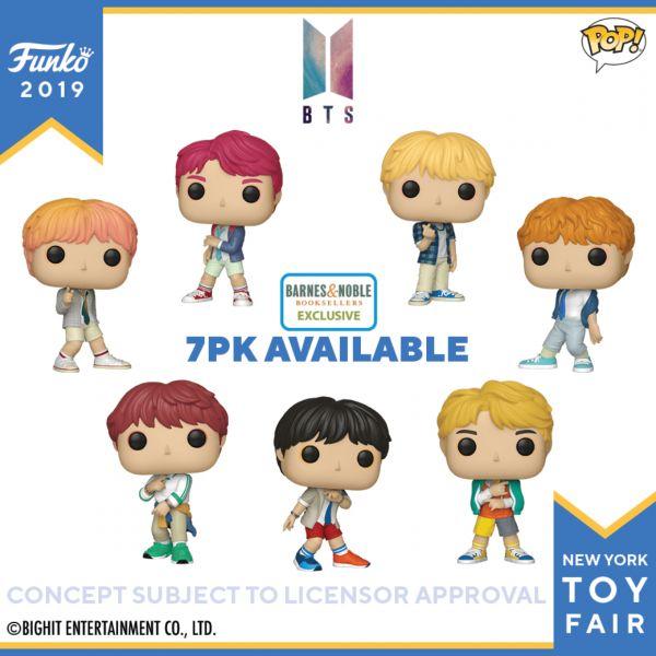 Dwie świetne serie figurek BTS i BT21 od Funko dla fanów zespołu