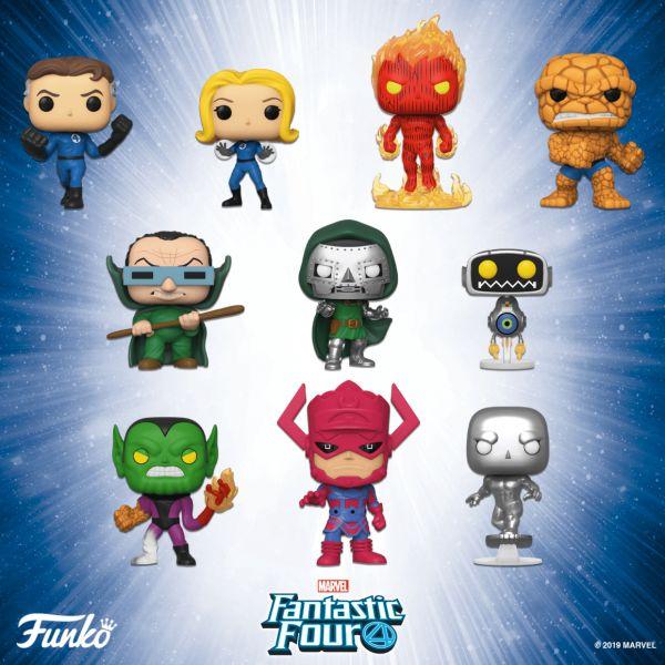 Fantastyczna czwórka dostanie komiksową wersję figurek!