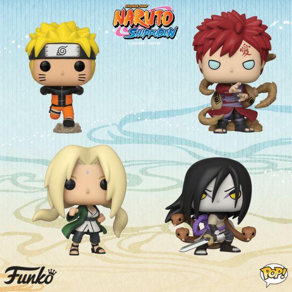 Nowa seria figurek Funko z Naruto niebawem w ofercie