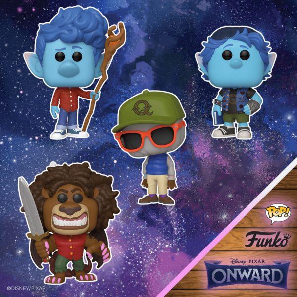"""""""Naprzód"""" od Pixara zseriąfigurek kolekcjonerskich dla fanów"""