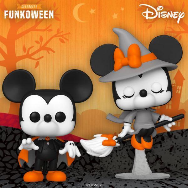 Halloween'owa Miki i Minnie niedługo na półkach naszego magazynu